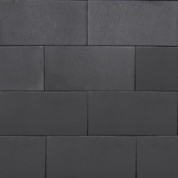 60plus 40x80x4 of 30x60x5 cm naturel nero