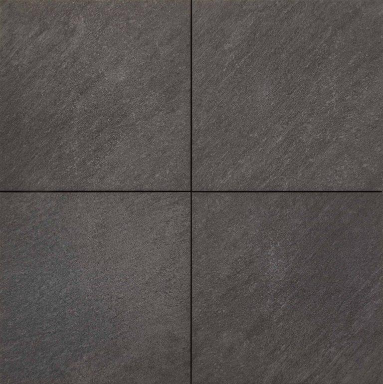 Keramische Tuintegels 60x60.Keramische Tegels Terrastegel Keramiek View Black 60x60 Cm