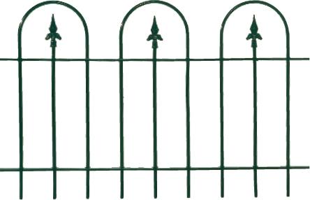 Metalen sierhekwerk metalen tuinhek klassiek groen - Modern tuinbekken ...