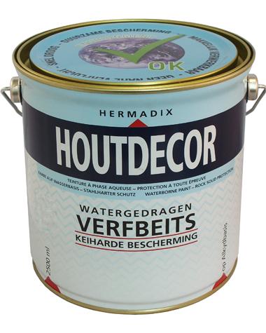 Hermadix Houtdecor Kleuren.Verf Beits En Olie Houtdecor 2 5 Ltr