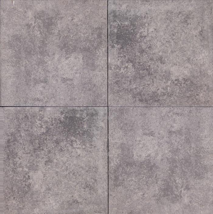 Betontegel Zwart 60x60.Actie Tegels Bestrating Luxe Tuintegel Gothic 60x60x5 Cm
