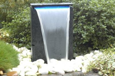 Waterornamenten: Waterval vicenza met LED verlichting